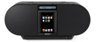 Illustration for article titled Sony Drops Three Other Stylish iPhone Docks