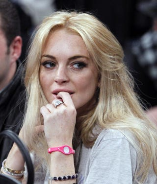 Illustration for article titled Lindsay Lohan To Be Charged With Felony Grand Theft