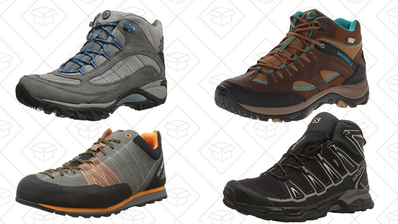 Up to 40% off select hiking shoes