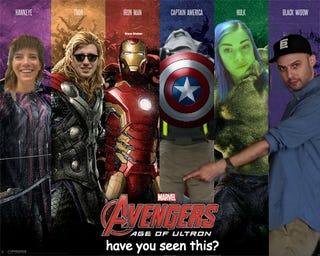 Illustration for article titled Avengers, assemble!