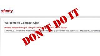 comcast cable customer service