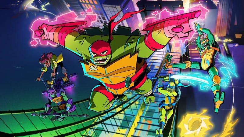 Illustration for article titled Let the Teenage Mutant Ninja Turtles Wake Your Kid Up