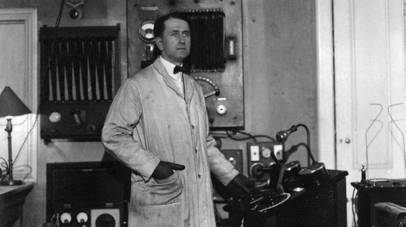 This inventor's death ray was totally real, but no one was allowed to see it