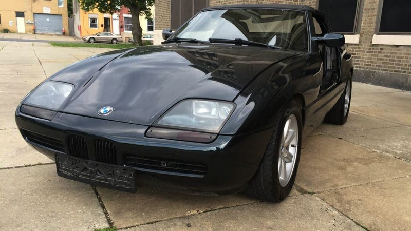 for 27 000 this 1990 bmw z1 could be in your near zukunft. Black Bedroom Furniture Sets. Home Design Ideas