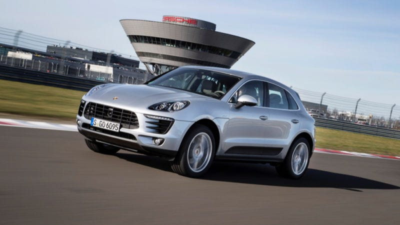 Illustration for article titled The Four-Cylinder Porsche Macan Proves That Performance Doesn't Really Matter