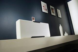 Illustration for article titled Octavio 1 High-End Zune Speakers From VAF