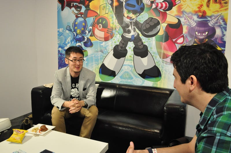 Illustration for article titled Mighty No. 9's Producer On What It's Like Working With a Legend