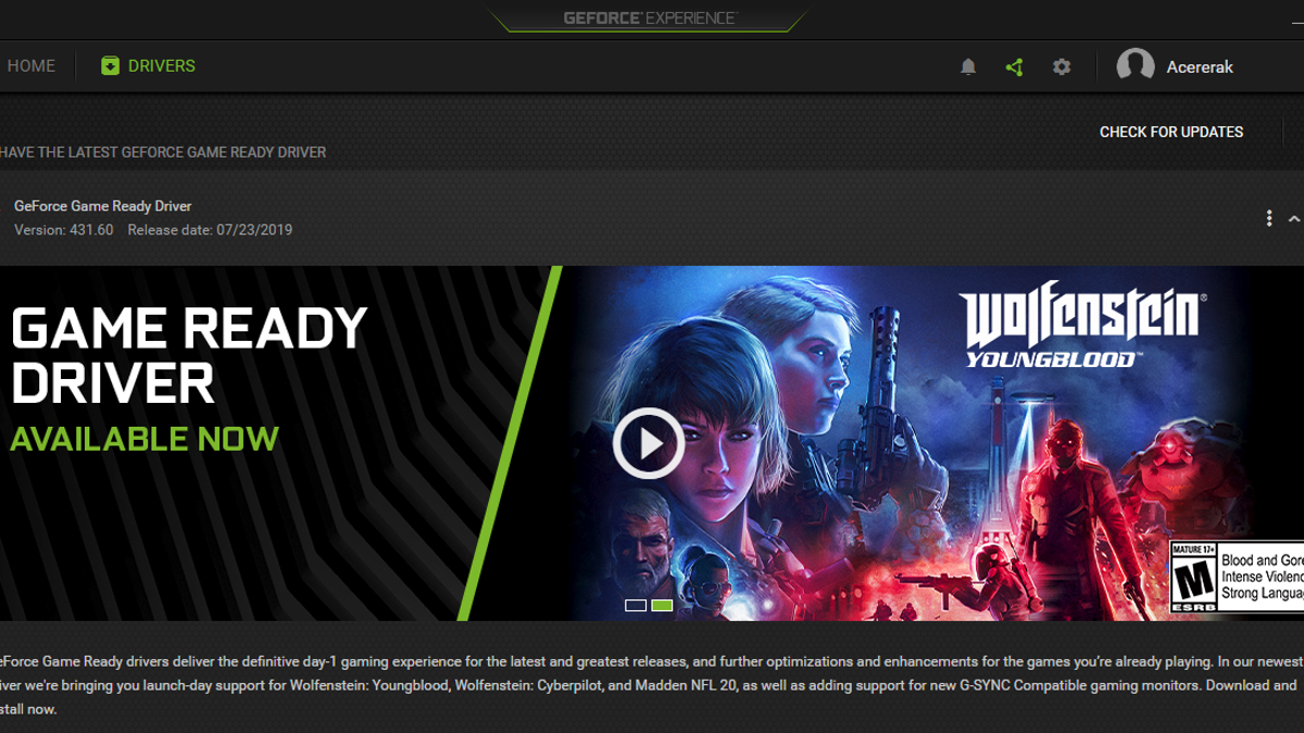 Update Your Nvidia Drivers Right Now to Fix Critical