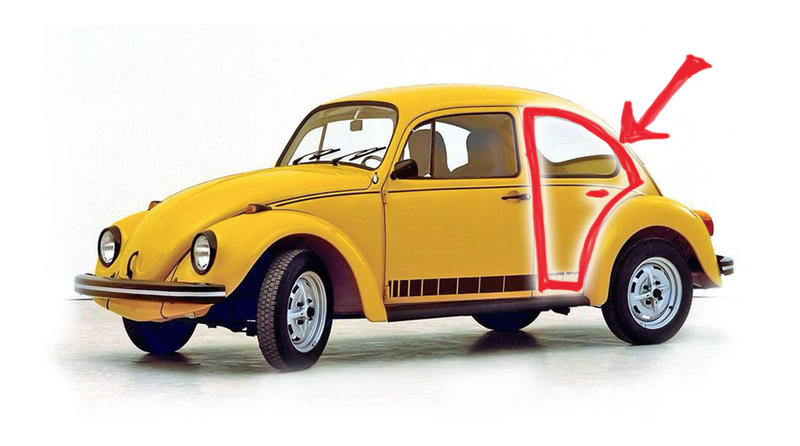 Illustration for article titled A Brief But Vitally Important History Of Four-Door Volkswagen Beetles