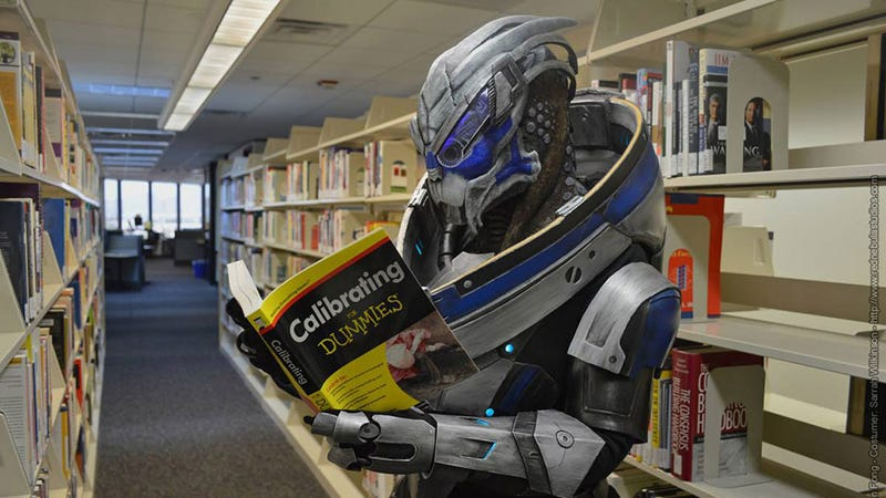 Illustration for article titled How Garrus Learned To Calibrate