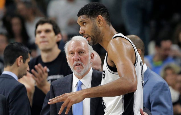 Spurs unsure if Duncan or Ginobili will return
