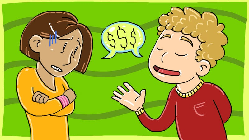 Illustration for article titled How Comfortable Are You About Discussing Money?
