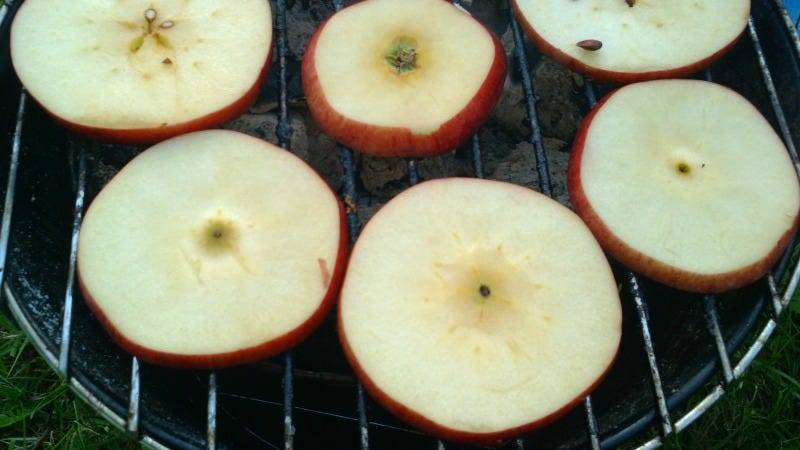 Illustration for article titled Grill Apples at Your Next Cookout for a Smoky, Sweet Side or Dessert