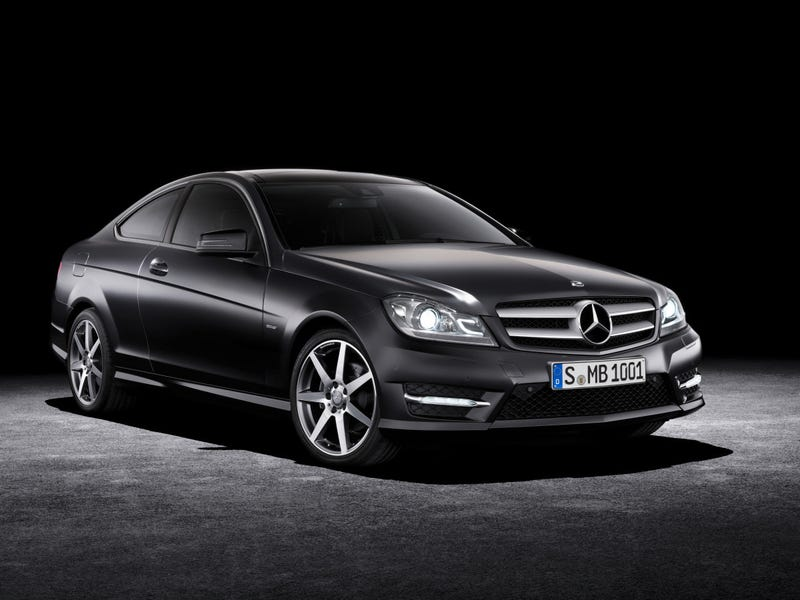 Illustration for article titled Mercedes-Benz C-CLass Coupe Gallery