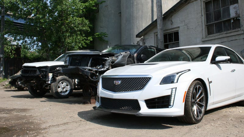 640 Hp Cadillac >> 2016 Cadillac CTS-V: A Glorious 640 HP Exercise In Overkill