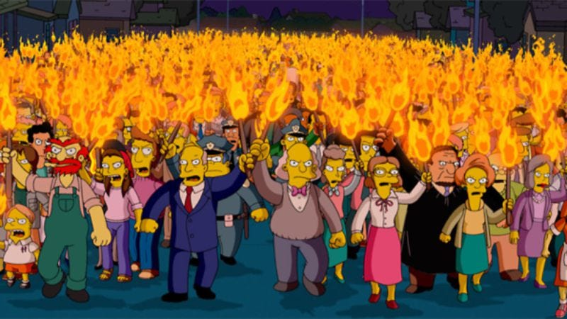 Screenshot: The Simpsons Movie