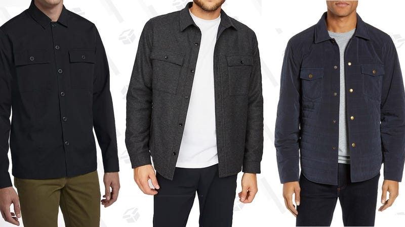 Hurley Lt. Dan Shirt Jacket | Hill City Insulated Wool Shirt Jacket | Billy Reid Slim-Fit Quilted Shirt-Jacket