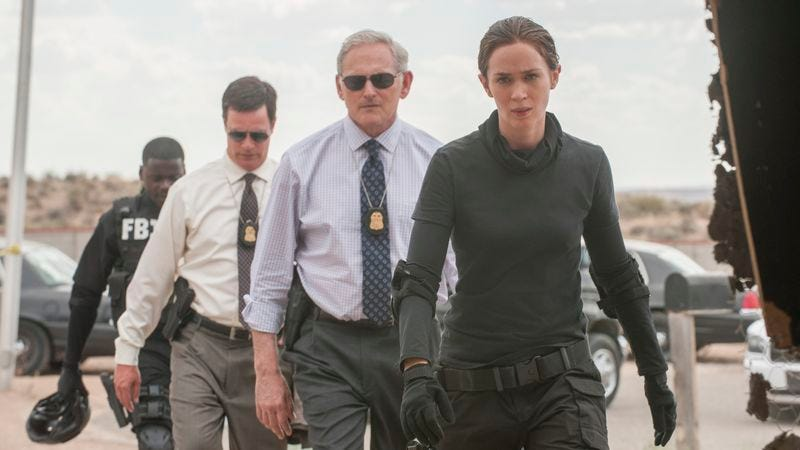 Illustration for article titled Producers, writers, and cinematographers agree on Sicario, Bridge Of Spies