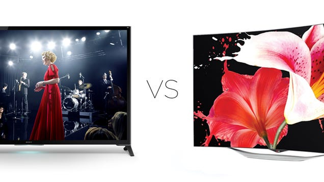 lg curved oled vs sony k lcd which tv tech reigns su