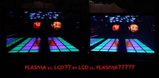 Illustration for article titled Sony Hosts XBR8 LED LCD vs. Plasma Shootout (You'll Never Guess Who Wins)