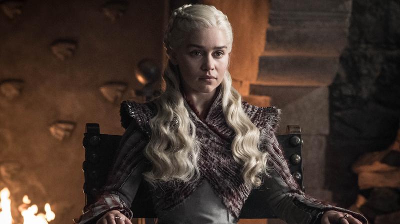 Daenerys (Emilia Clarke) checks out her newest Westerosi acquisition.