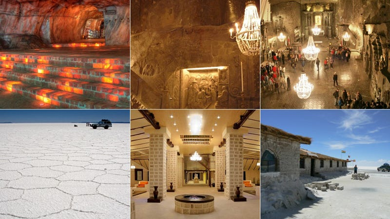 Illustration for article titled Buildings You Can Lick: 9 Spectacular Structures Made Out of Salt