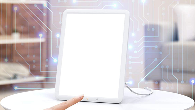 Battle Back the Winter Blues With a Light Therapy Lamp, Just $20