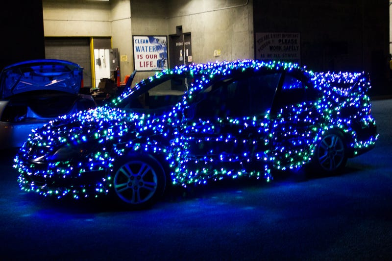 Pictured: an Evo that's very well lit