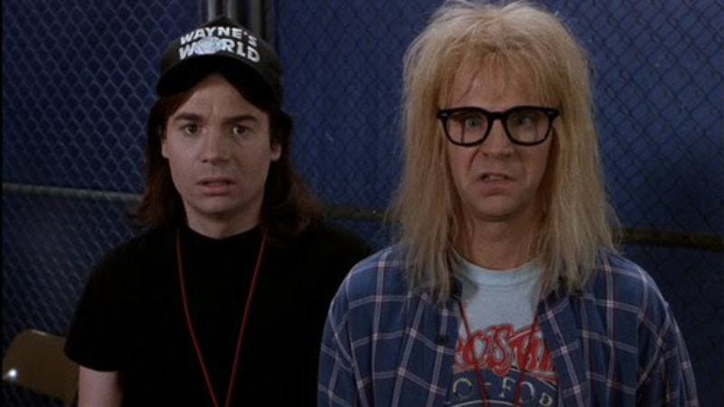 Illustration for article titled Dana Carvey and Mike Myers to end the feud they keep denying they ever had