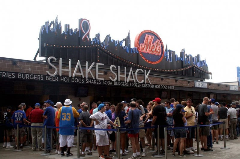 Illustration for article titled Citi Field Shake Shack Food Poisoning Hits Mets Player, Phillies Manager