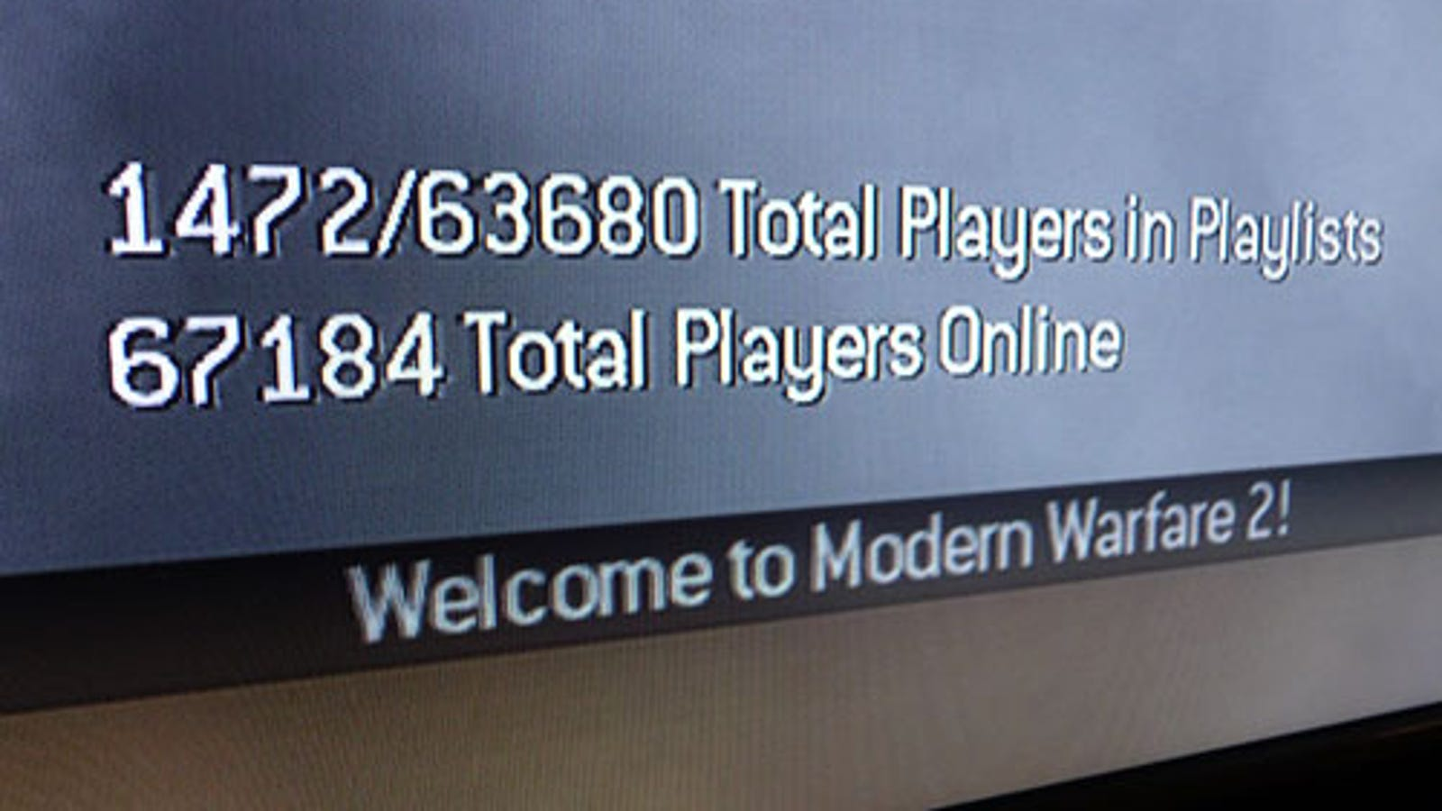 Mw2 Player Count Pc
