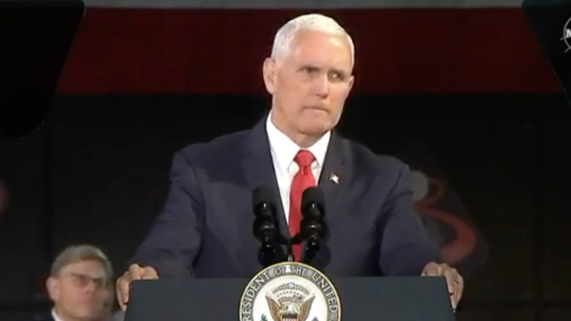 Pence at the National Space Council