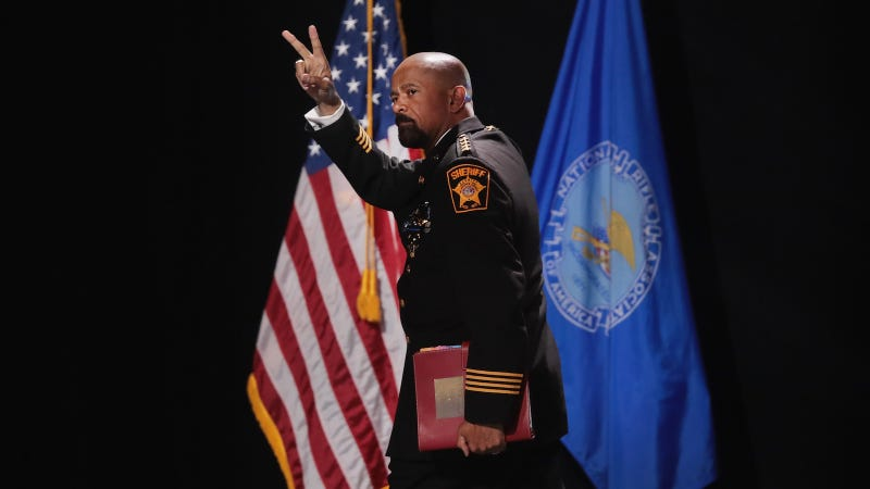 Milwaukee Sheriff Clarke takes job with Homeland Security