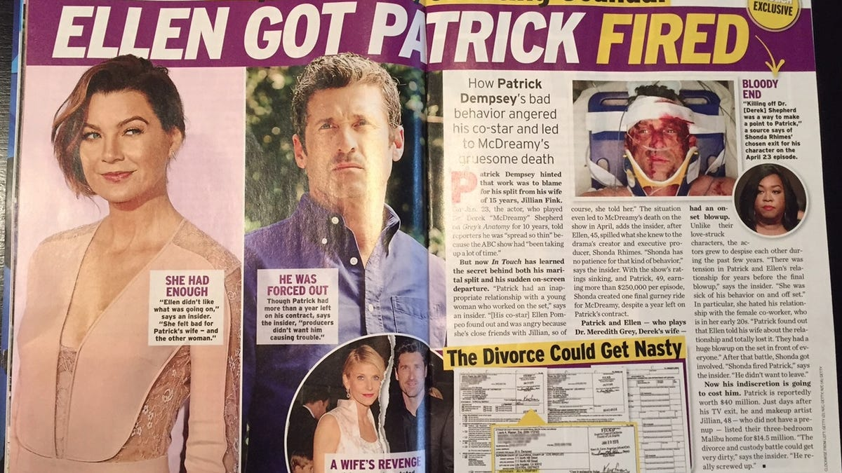 Intouch Deletes Article About Patrick Dempseys Alleged Intern Affair
