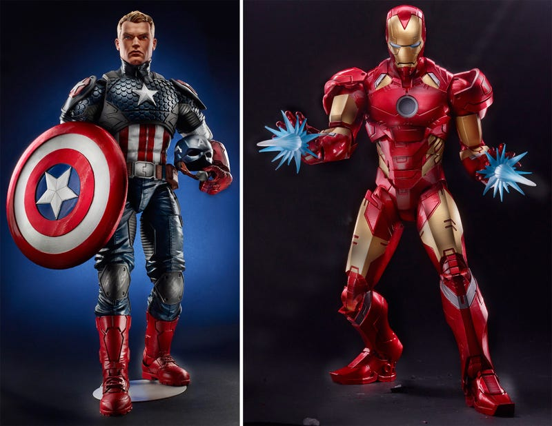 Illustration for article titled Supersize Your Superheroes With Hasbro's New 12-InchMarvel Legends Figures