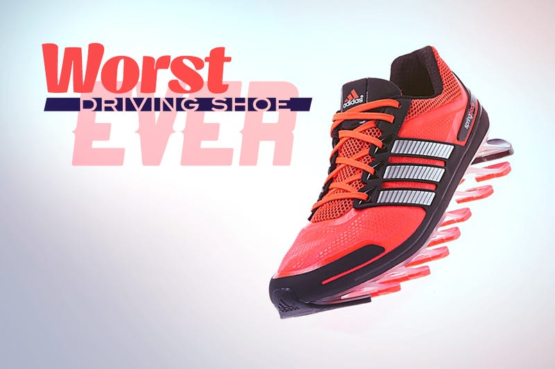 Illustration for article titled Worst Driving Shoe Ever