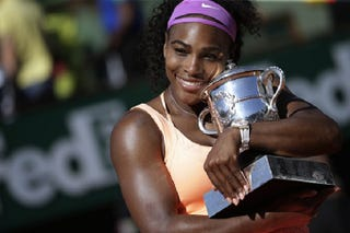 Illustration for article titled Serena Williams Continues To Dominate Women's Tennis