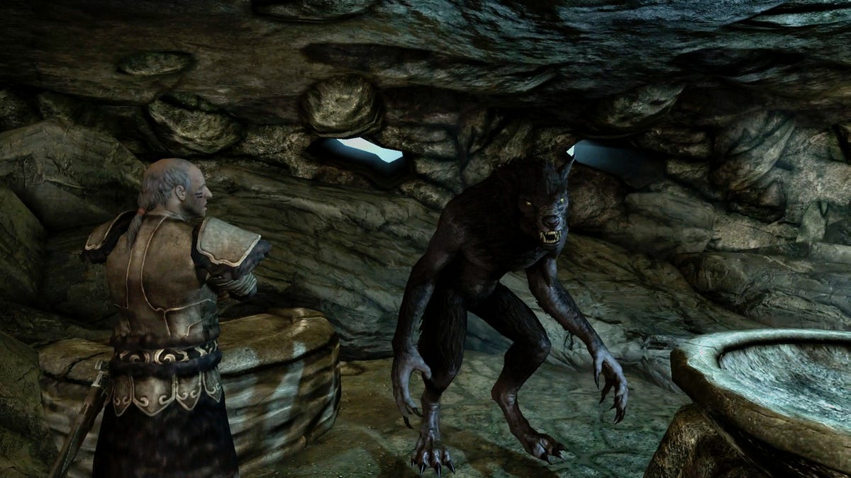 My Tragic Marriage With A Skyrim Werewolf