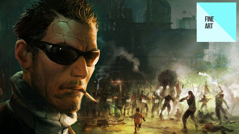 Illustration for article titled More of Deus Ex: Human Revolution's Amazing Concept Art
