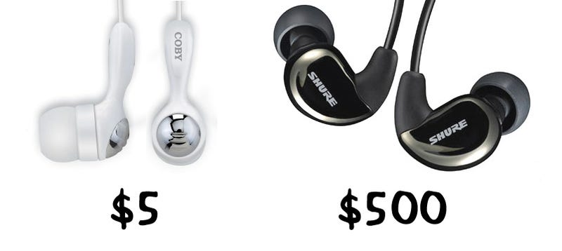 Illustration for article titled Giz Explains: Why You Can't Get Decent Earphones for Less Than $100