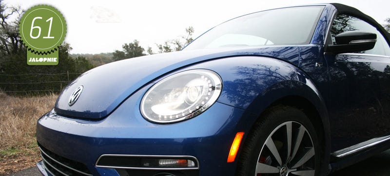 Illustration for article titled 2015 Volkswagen Beetle Convertible R-Line: The Jalopnik Review