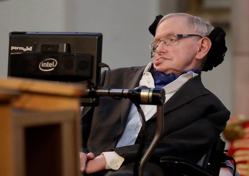 Hawking. AP