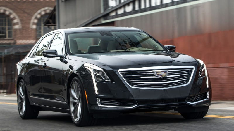"""Illustration for article titled I'm """"driving"""" a Super-Cruise-equipped CT6 for 1,100 miles AMA"""