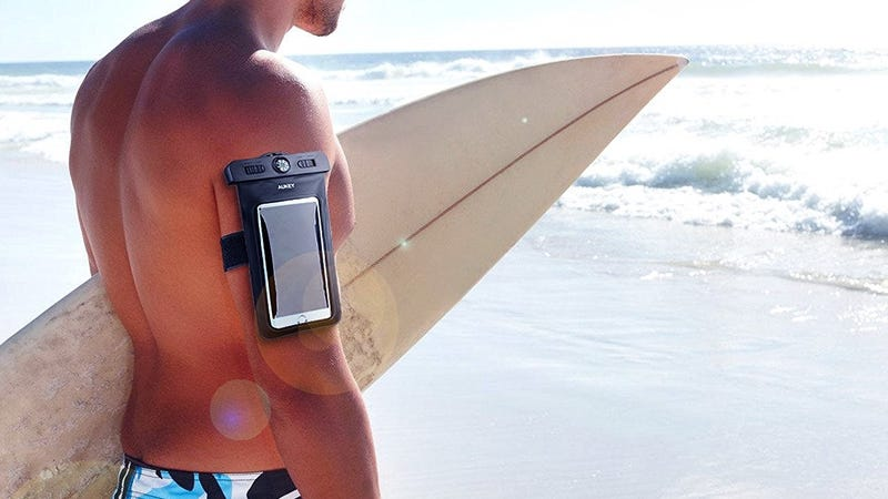 Aukey Smartphone Dry Bag/Armband, $5 with code AUKCASE2