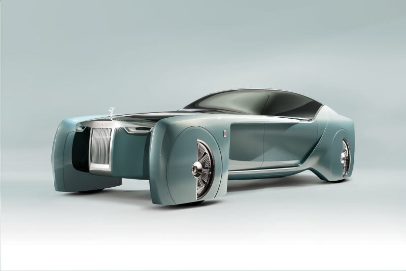 Illustration for article titled First Ever Concept Car From Rolls Royce is Ridiculous