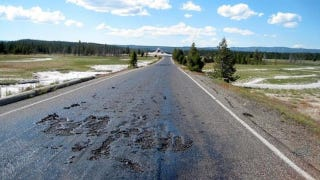Illustration for article titled ​The Roads In Yellowstone Are Freaking Melting