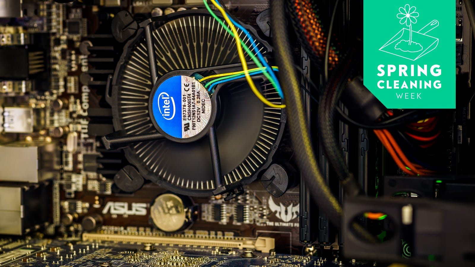 How To Clean Your Dusty Messy Desktop Pc The Resistor Is On Left Side Of Board Close Heat Sink
