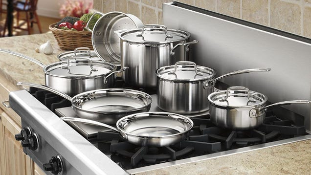 Upgrade All of Your Pots and Pans to Tri-Ply For $180