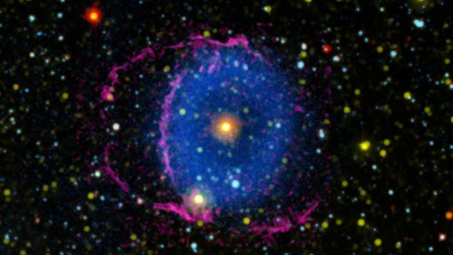 Mystery of Glowing Cosmic  Eye  Finally Solved