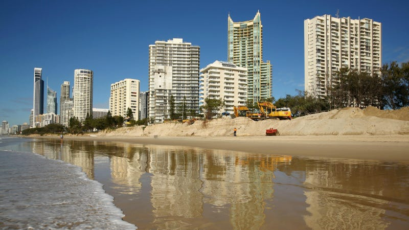 Australia's Gold Coast. Photo via Getty Images.